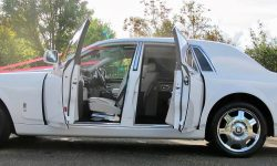 Rolls Royce Phantom facelift model in White new 2