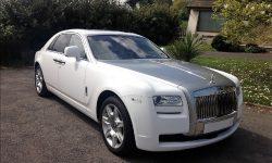 Rolls Royce Silver Ghost in White 1.1