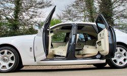 Rolls Royce Silver Ghost in White new 3