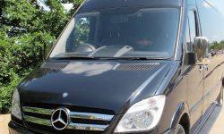 12 passenger Mercedes Excutive Party Bus