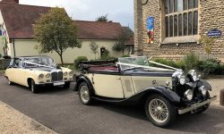 1933 Roesch Talbot convertible with Daimler (cropped)