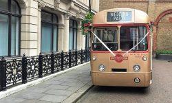 39 passenger AEC Single Deck RF Bus in Gold