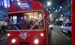 39 passenger AEC Single Deck RF Bus in London Transport Red (on London Lights tour)