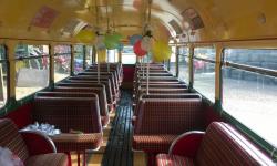 39 passenger AEC Single Deck RF Bus (interior)
