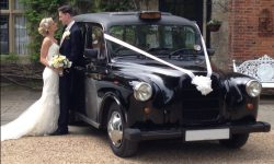 Black Fairway London Wdding Cab (Bride & Groom)