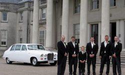 Classic style Daimler Limousine in White
