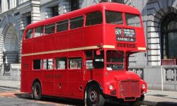 Standard Red Routemaster Bus 3