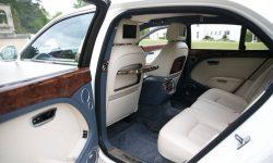 Bentley Mulsanne in White (2) interiorr