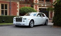 Rolls Royce Phantom facelift model in White 3
